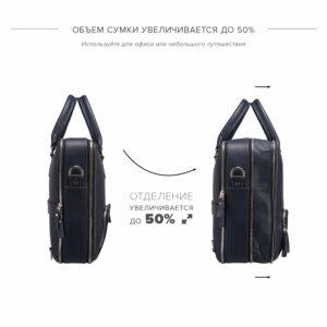 Модная синяя мужская сумка трансформер BRL-23168 235077
