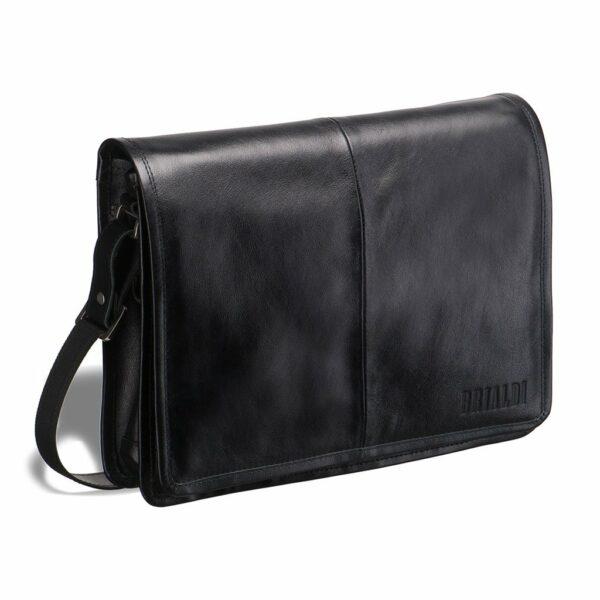 Неповторимая черная мужская сумка BRL-949