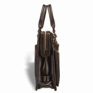 Солидная коричневая мужская сумка для документов BRL-12048 233937