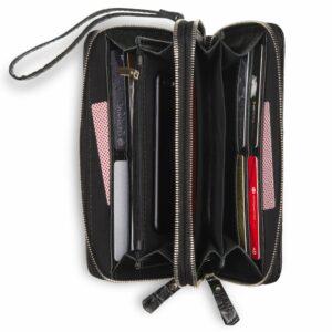 Уникальная черная мужская сумка для мобильного телефона BRL-19830 234424