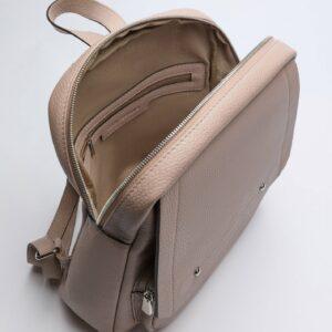 Деловой бежевый женский рюкзак FBR-2887 236575
