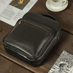 Солидный коричневый мужской планшет BRL-12937 234128