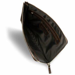 Функциональная коричневая мужская кожгалантерея BRL-3511 233672