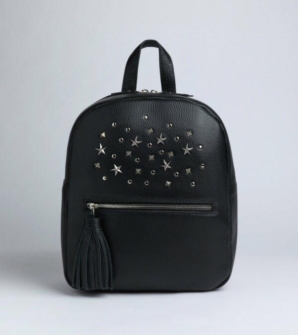 Уникальный черный женский рюкзак FBR-1166