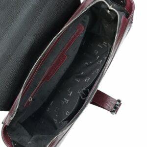 Уникальная бордовая женская сумка FBR-2452 236438