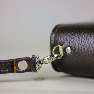 Удобная коричневая мужская барсетка BRL-23059 234665