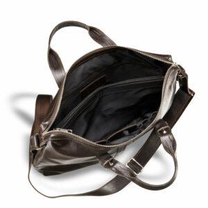 Удобная коричневая мужская сумка для документов BRL-3221 233609
