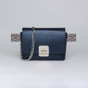 Неповторимая синяя женская сумка FBR-2905