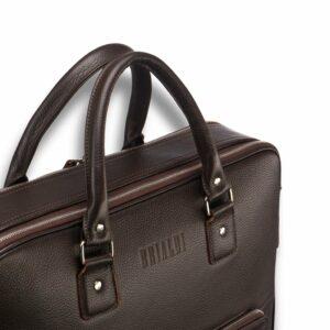 Функциональный коричневый мужской портфель рюкзак BRL-23167 235124