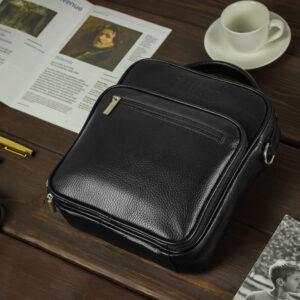 Уникальная черная мужская сумка для документов BRL-12934 234090
