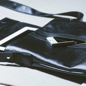 Удобная черная мужская сумка для документов BRL-1021 233485