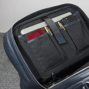Удобная синяя сумка спортивная BRL-23332 235345