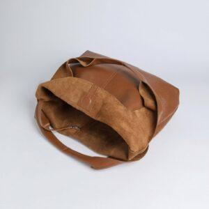 Вместительная коричневая женская сумка FBR-2882 236127