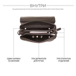 Неповторимая коричневая мужская сумка BRL-19864 234539
