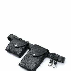 Модная черная женская поясная сумка FBR-2472 235994