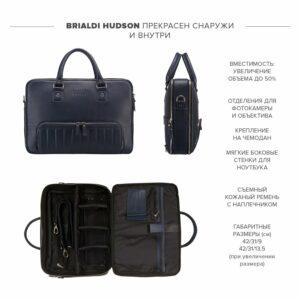 Модная синяя мужская сумка трансформер BRL-23168 235127