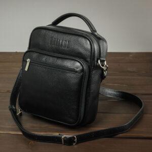 Уникальная черная мужская сумка для документов BRL-12934 234083