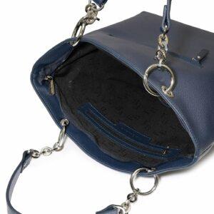 Кожаная синяя женская сумка FBR-1346 233172