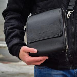 Уникальная черная мужская сумка BRL-26688 235198