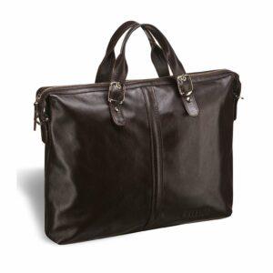 Удобная коричневая мужская сумка для документов BRL-3221