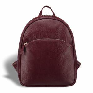 Кожаная бордовая женская сумка BRL-17486 234358