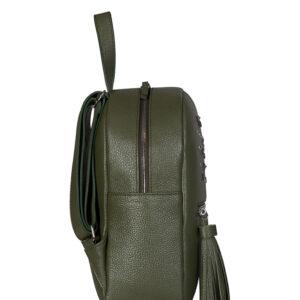 Стильный желтовато-зелёный женский рюкзак FBR-1163 233279
