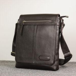 Неповторимая коричневая мужская сумка для документов BRL-11724 233886