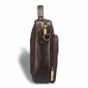 Функциональная коричневая мужская барсетка BRL-12936 234080