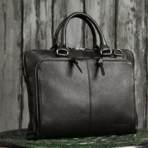Функциональная черная мужская сумка для документов BRL-779 233434