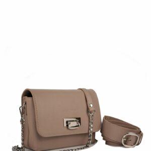 Удобная бежевая женская сумка FBR-2342
