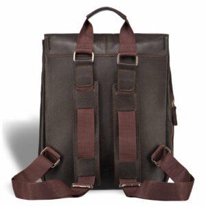 Удобный коричневый мужской рюкзак для ручной клади BRL-17457 234307