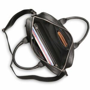 Деловая черная мужская сумка для документов BRL-12997 234162