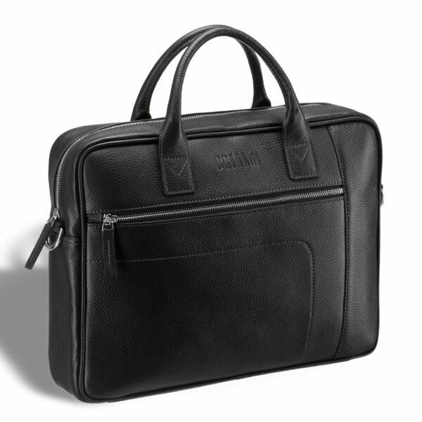 Деловая черная мужская сумка для документов BRL-12997