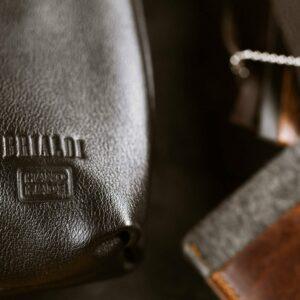 Функциональная черная мужская сумка через плечо BRL-1518 233547