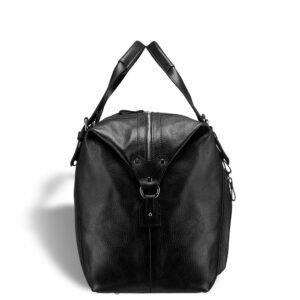 Кожаная черная мужская сумка BRL-11874 233895