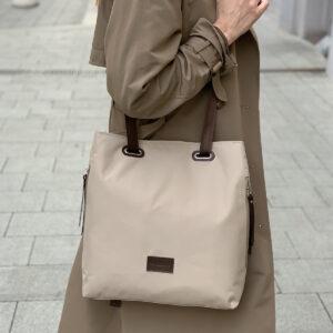 Модная серая женская сумка FBR-2690 236045