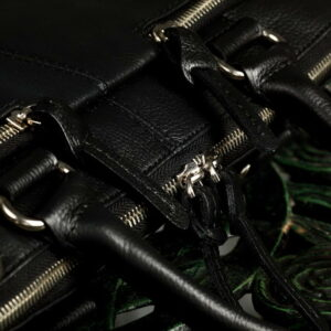 Функциональная черная мужская сумка для документов BRL-779 233445
