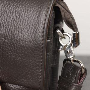 Неповторимая коричневая мужская сумка BRL-19864 234570