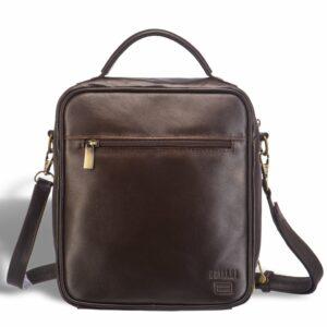 Функциональная коричневая мужская барсетка BRL-12936 234078
