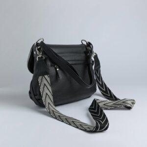 Неповторимая черная женская сумка FBR-973 233274