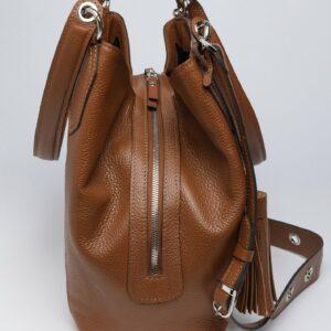 Модная коричневая женская сумка FBR-2783 236080