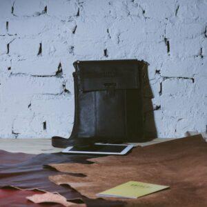 Неповторимая коричневая мужская сумка для документов BRL-132 233323