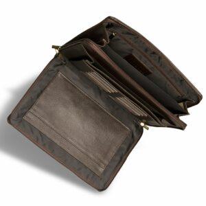 Удобный коричневый мужской аксессуар BRL-12054 234006