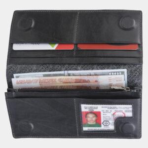 Модный серый кошелек ATS-2256 233015