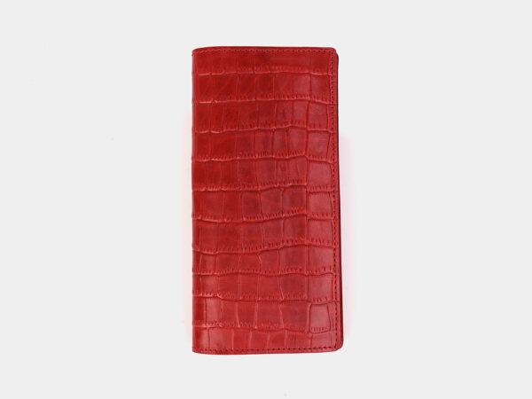 Деловой красный кошелек ATS-3576