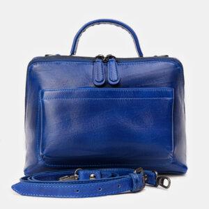 Модная голубовато-синяя женская сумка ATS-3391