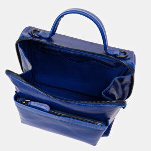 Удобная голубовато-синяя женская сумка ATS-3391 233256