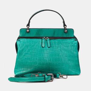 Удобная зеленая женская сумка ATS-3595