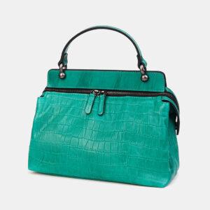 Удобная зеленая женская сумка ATS-3595 236514