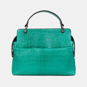 Удобная зеленая женская сумка ATS-3595 236515